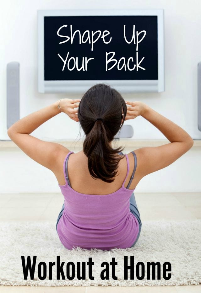 """Bring sexy """"back"""" with this Back Workout At Home!"""