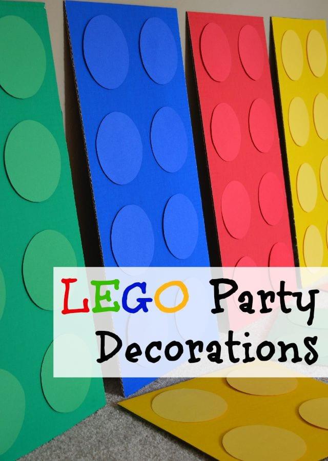 Lego Birthday Party Decorations #LegoPartyIdeas