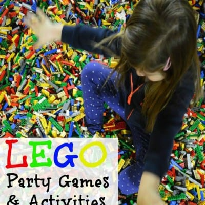 Lego Birthday Party Games