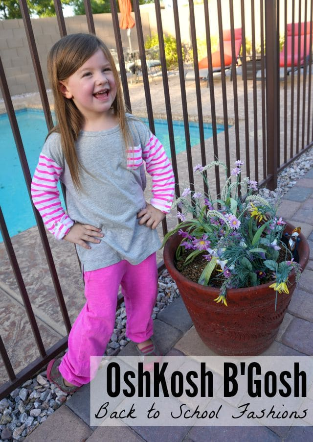 OshKosh back to school fashions and coupon (ad)