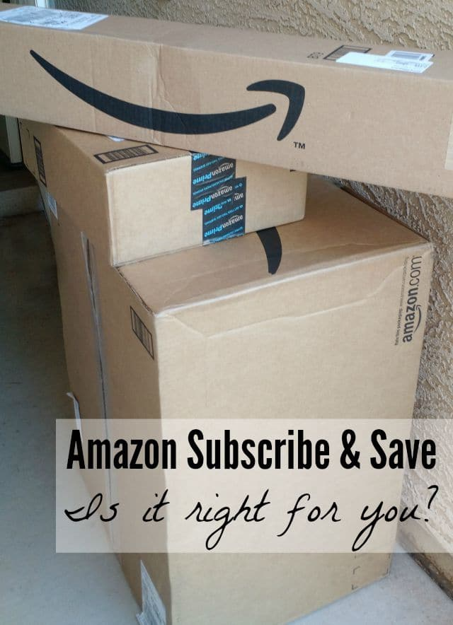 Is Amazon Subscribe & Save right for you? Find out why or why not!