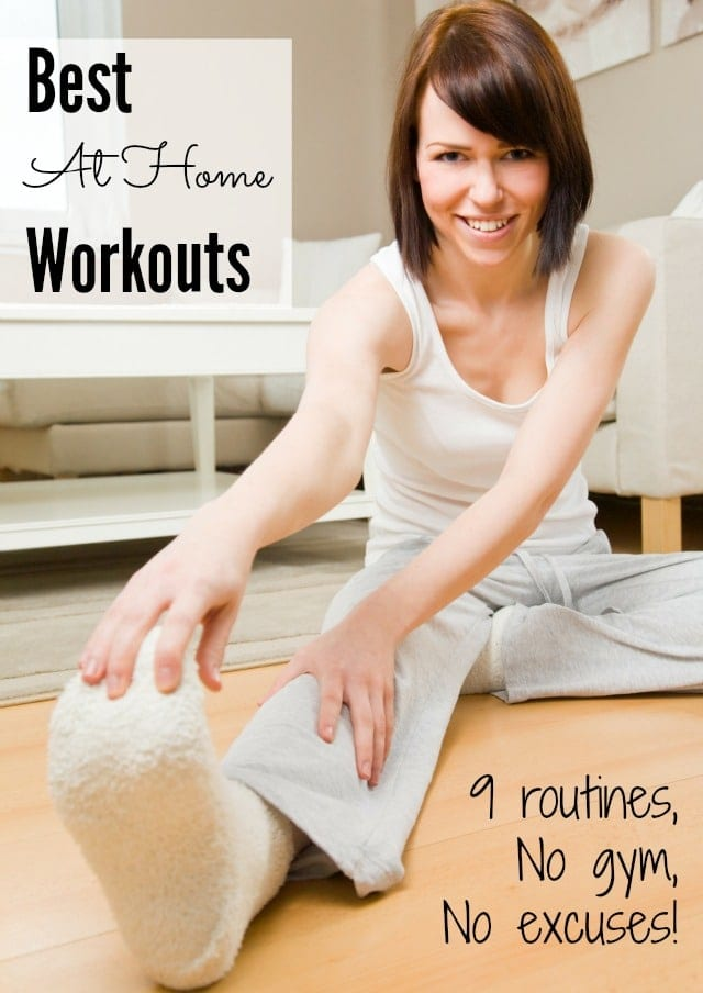 Best At Home Workouts- 9 exercise routines for when you have little space and little time!