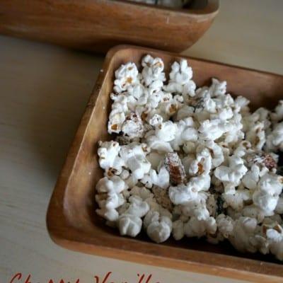 Cherry Vanilla Popcorn Crunch