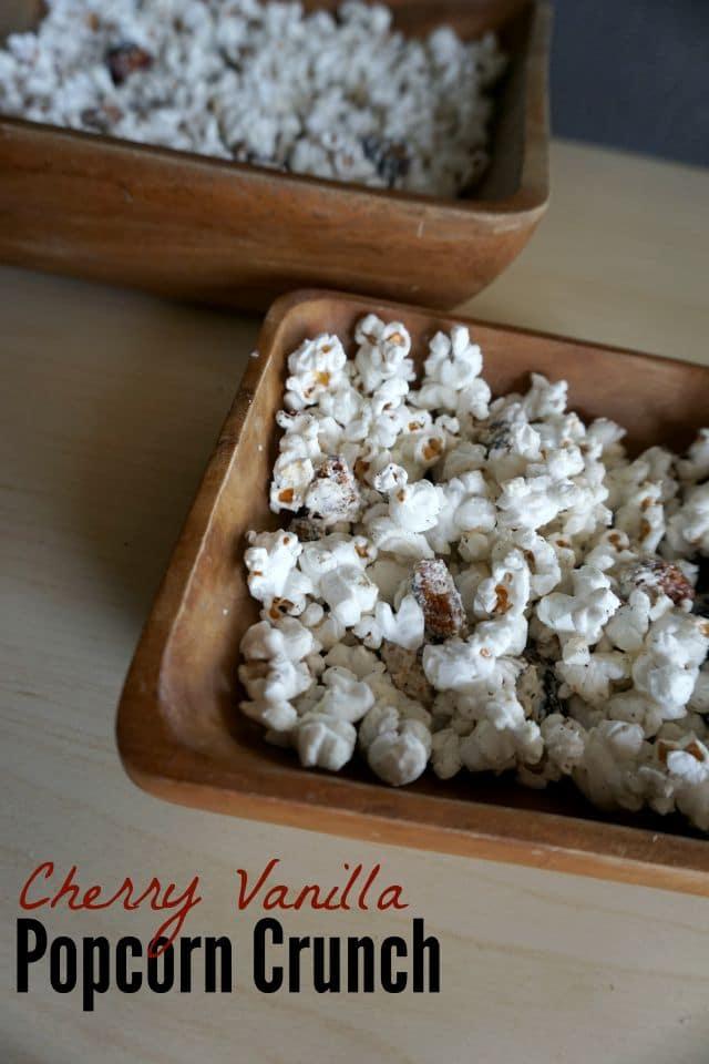 Jazz up your movie night with Cherry Vanilla Popcorn! #CVSBackToSchool