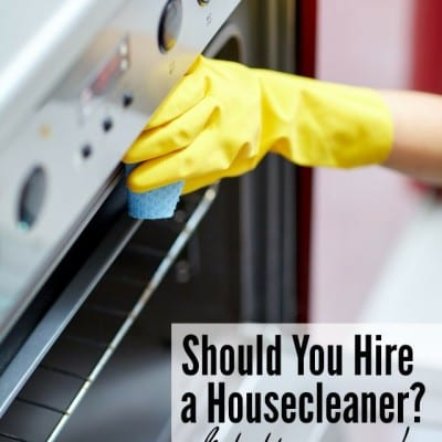 Should You Hire a Housecleaner?