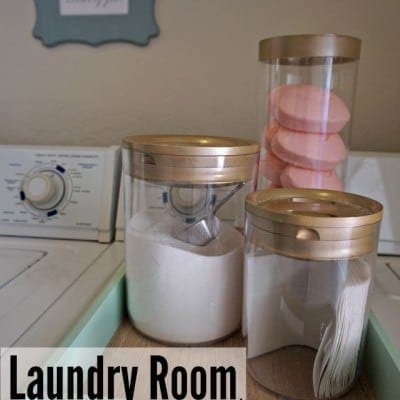 Love Your Laundry Room