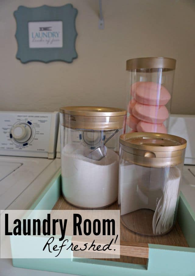 Love Your Laundry Room: Laundry is a chore, but if you do it in a beautiful, practical space, you might enjoy it a little more!