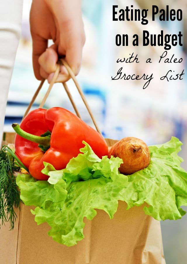 Eating Paleo on a Budget with a Paleo Grocery List