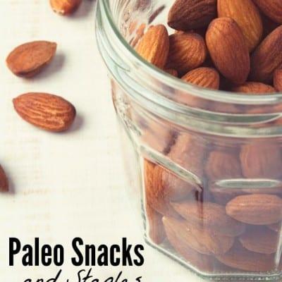 Paleo Snacks and Staples