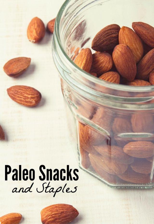 Paleo Staples and Snack Ideas
