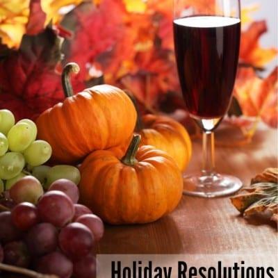 Holiday Resolutions