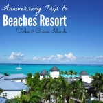 Celebrate Your Anniversary at Beaches