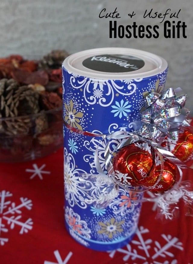 Useful and cute hostess gift idea!