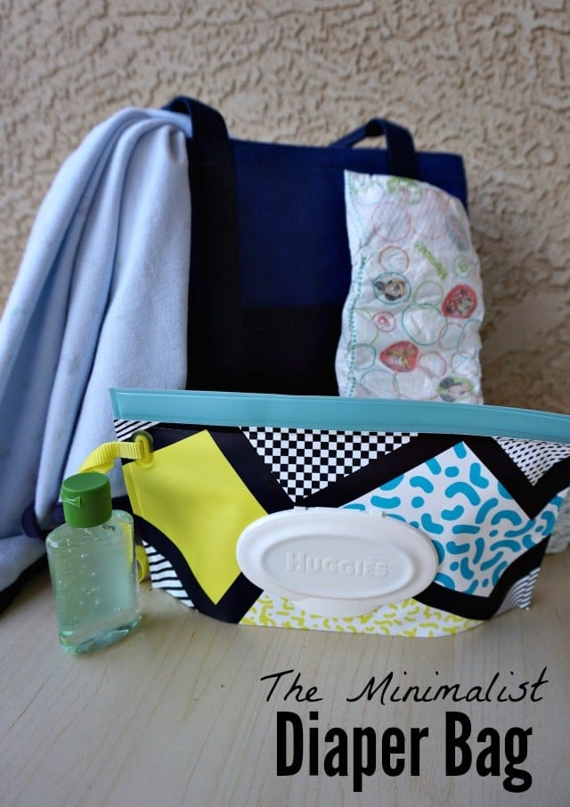 A diaper bag for fashionable moms who want to carry less! #ClutchStyle #ad