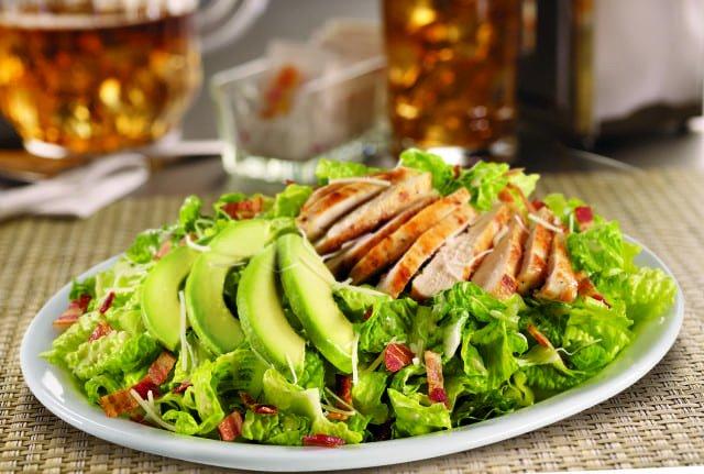 Avocado Chicken Caesar Salad