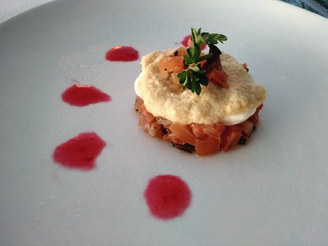 One of our delectable courses