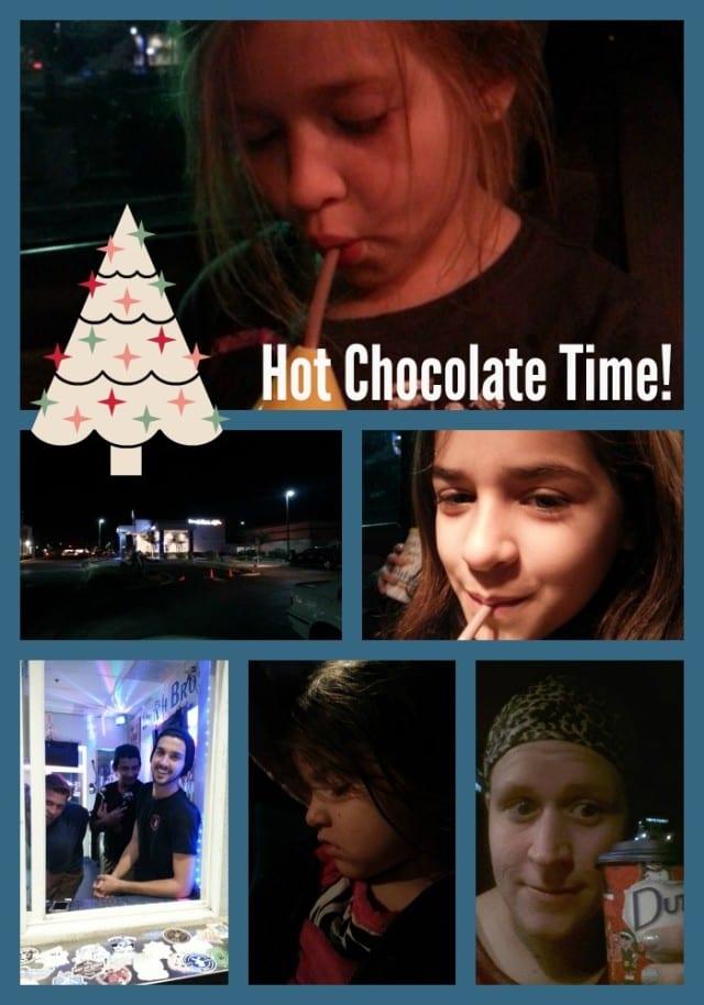 drive thru hot chocolate