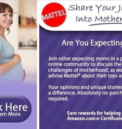 Mattel Looking for First Time Moms