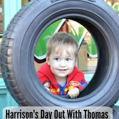 Harrison's Day Out With Thomas (with a stop at Disneyland)