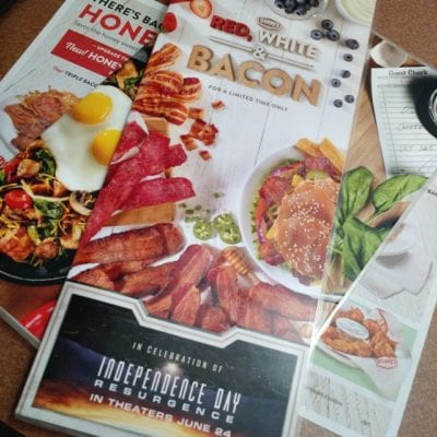 Red, White, & Bacon: Limited-Time Menu at Denny's