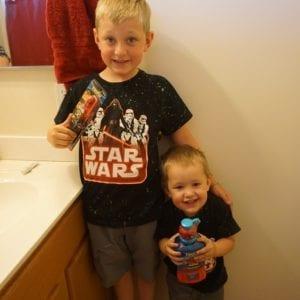 Making Teeth Brushing Fun