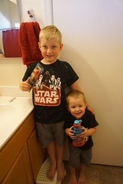 Making Teeth Brushing Fun