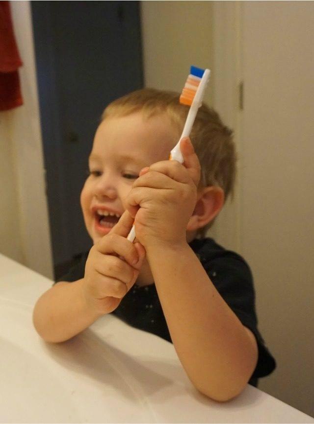 Fun with brushing