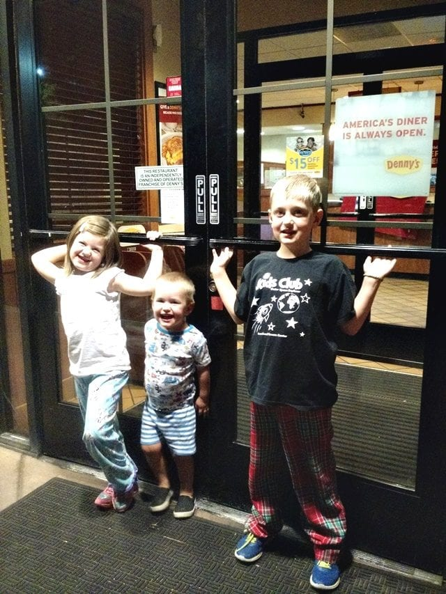 Kids Eat Free at Denny's
