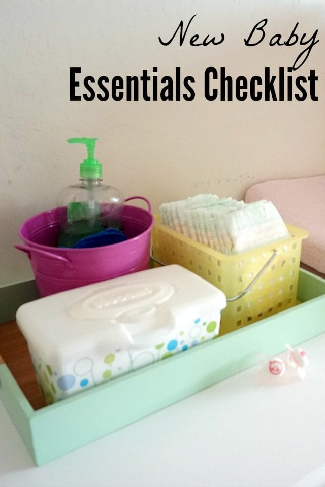 Find out exactly what you need for a new baby on this New Baby Supplies Checklist. I'm sharing the top items that I've used with three (soon to be four) babies, along with a printable checklist for baby needs