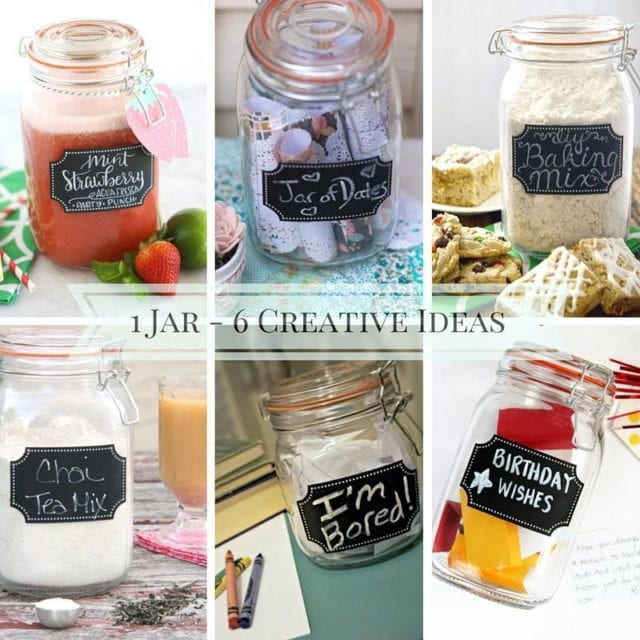 Check out the different ways 6 bloggers used this same jar. From drinks to desserts, gift ideas to date night, you'll definitely be inspired to go buy some more jars!
