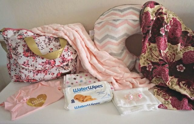 Baby Hospital Bag contents