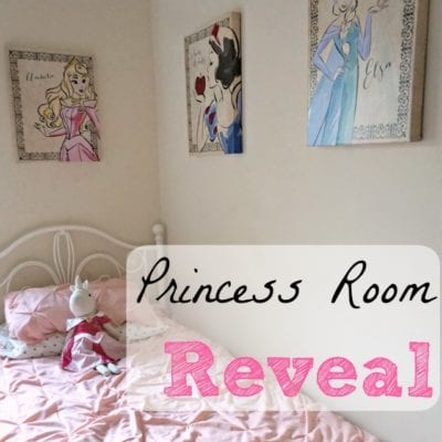 Princess Room Reveal