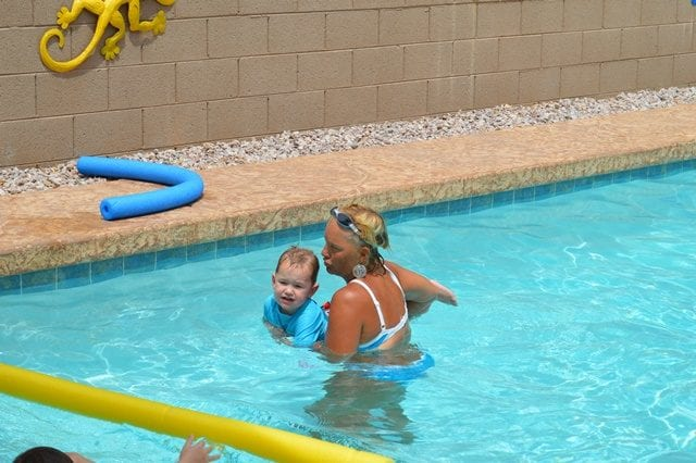 Sunsational Swim School Private Swim Lessons In Your Own Pool Shaping Up To Be A Mom