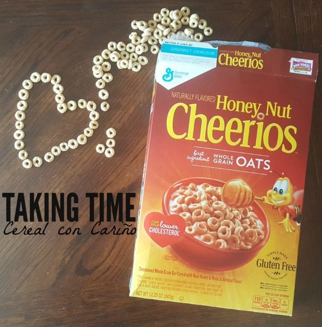 "Breakfast can be a great time to connect with your family. Keep it simple and try ""Cereal con Carino!"" (ad) https://ooh.li/13d496e"