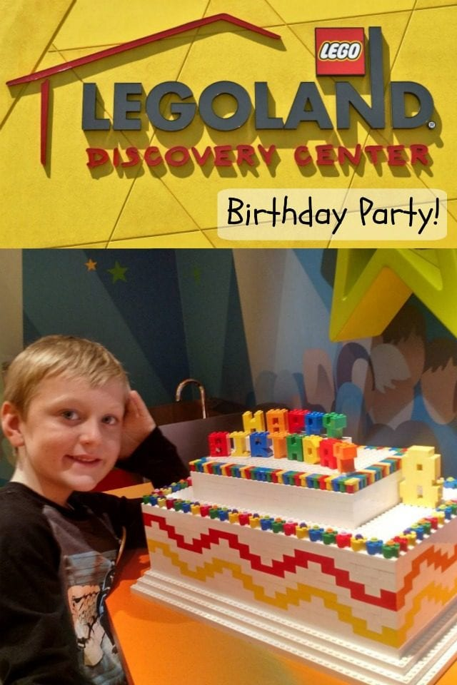 Everything was awesome at our LEGOLAND Discovery Center birthday party!