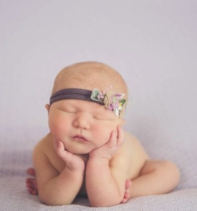 Melody's Newborn Photo Shoot | Melissa Donaldson Photography