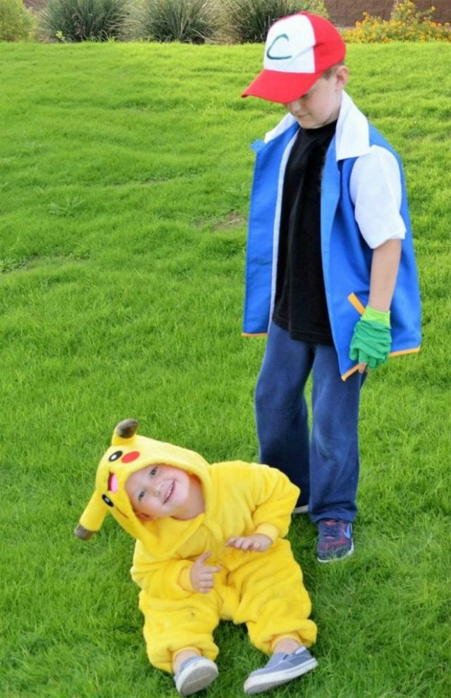 misty pikachu Ash costume and