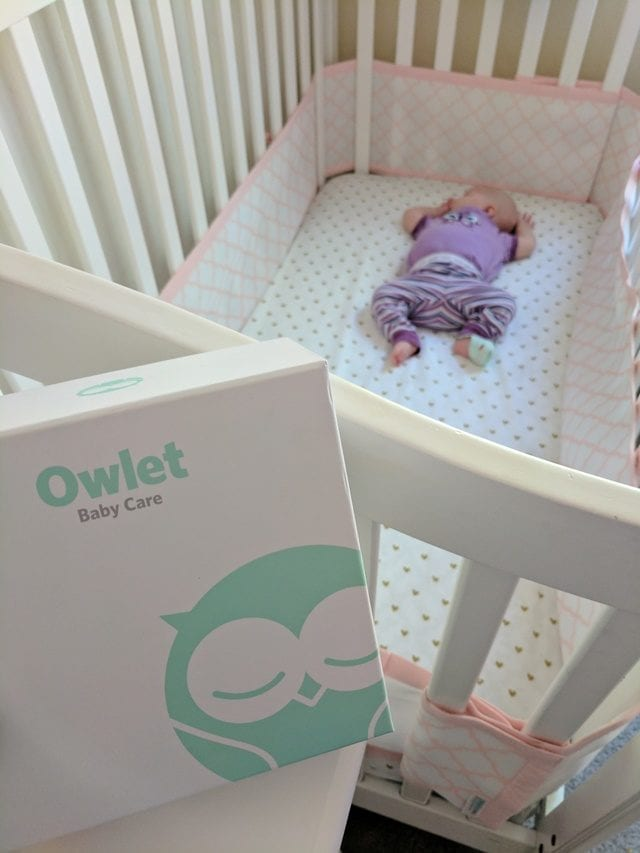The Owlet Monitor should be on every mom-to-be's wish list! Rest easy knowing that Owlet will alert you if baby needs attention.