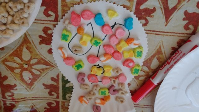 Sugar Skull Craft with Lucky Charms