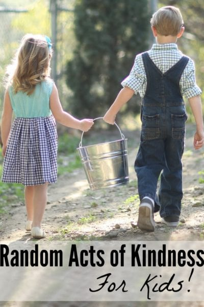 Random Acts of Kindness for Kids