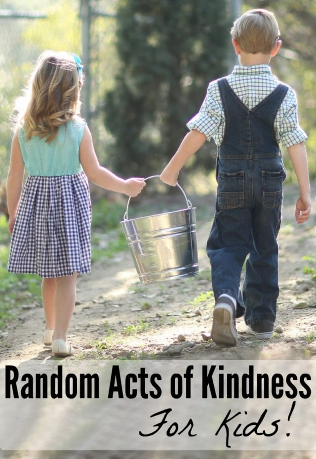 February 17th is Random Acts of Kindness Day. These are some great ideas of things you can do with your kids, to spread some kindness out into the world!