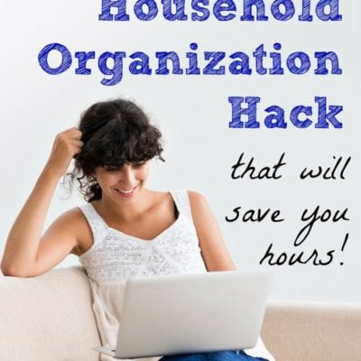 The 1-Minute Household Organization Hack (That Will Save You Hours)