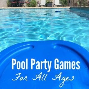Pool Party Games for All Ages